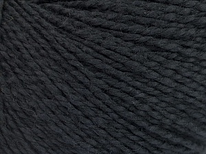Fiber Content 68% Cotton, 32% Silk, Brand Ice Yarns, Black, Yarn Thickness 2 Fine  Sport, Baby, fnt2-51923