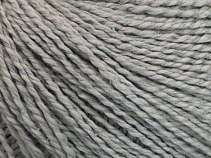 Fiber Content 68% Cotton, 32% Silk, Brand Ice Yarns, Grey, Yarn Thickness 2 Fine  Sport, Baby, fnt2-51924