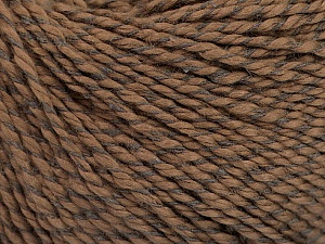 Fiber Content 68% Cotton, 32% Silk, Brand ICE, Brown, Yarn Thickness 2 Fine  Sport, Baby, fnt2-51926