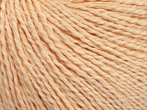 Fiber Content 68% Cotton, 32% Silk, Light Salmon, Brand Ice Yarns, Yarn Thickness 2 Fine  Sport, Baby, fnt2-51927