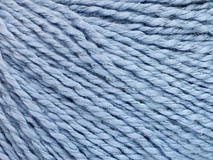 Fiber Content 68% Cotton, 32% Silk, Light Lilac, Brand Ice Yarns, Yarn Thickness 2 Fine  Sport, Baby, fnt2-51933