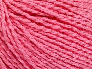 Fiber Content 68% Cotton, 32% Silk, Pink, Brand Ice Yarns, Yarn Thickness 2 Fine  Sport, Baby, fnt2-51935