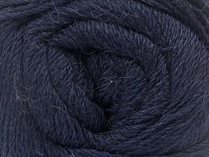 Fiber Content 45% Alpaca, 30% Polyamide, 25% Wool, Navy, Brand Ice Yarns, Yarn Thickness 2 Fine  Sport, Baby, fnt2-51948