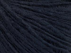 Fiber Content 60% Acrylic, 40% Wool, Navy, Brand ICE, Yarn Thickness 3 Light  DK, Light, Worsted, fnt2-51970