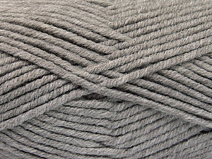 Fiber Content 80% Acrylic, 20% Polyamide, Brand ICE, Grey, Yarn Thickness 5 Bulky  Chunky, Craft, Rug, fnt2-52052