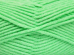 Fiber Content 80% Acrylic, 20% Polyamide, Neon Green, Brand ICE, Yarn Thickness 5 Bulky  Chunky, Craft, Rug, fnt2-52053