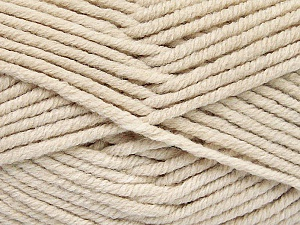 Fiber Content 80% Acrylic, 20% Polyamide, Brand ICE, Beige, Yarn Thickness 5 Bulky  Chunky, Craft, Rug, fnt2-52057