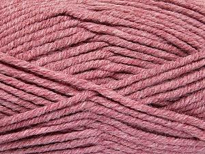 Fiber Content 80% Acrylic, 20% Polyamide, Light Burgundy, Brand ICE, Yarn Thickness 5 Bulky  Chunky, Craft, Rug, fnt2-52061