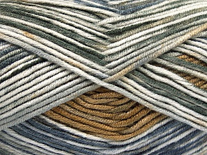 Fiber Content 100% Antipilling Acrylic, White, Jeans Blue, Brand ICE, Grey Shades, Brown, Yarn Thickness 4 Medium  Worsted, Afghan, Aran, fnt2-52067