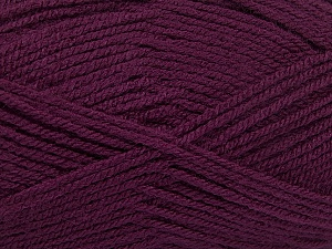 Fiber Content 100% Acrylic, Maroon, Brand ICE, Yarn Thickness 3 Light  DK, Light, Worsted, fnt2-52088