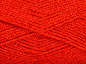 İçerik 100% Akrilik, Brand Ice Yarns, Dark Orange, Yarn Thickness 3 Light DK, Light, Worsted, fnt2-52094