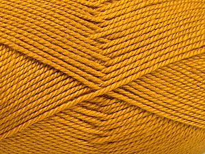 Fiber Content 100% Acrylic, Brand ICE, Gold, Yarn Thickness 2 Fine  Sport, Baby, fnt2-52119