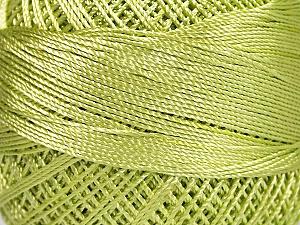 Fiber Content 100% Micro Fiber, Brand YarnArt, Light Green, Yarn Thickness 0 Lace Fingering Crochet Thread, fnt2-52264
