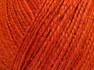 Fiber Content 100% Hemp Yarn, Orange, Brand ICE, Yarn Thickness 3 Light  DK, Light, Worsted, fnt2-52360