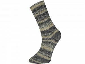 Fiber Content 75% Superwash Wool, 25% Polyamide, Brand Ice Yarns, Grey Shades, Cream, Yarn Thickness 1 SuperFine Sock, Fingering, Baby, fnt2-52567