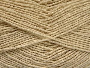 Fiber Content 70% Acrylic, 30% Wool, Brand ICE, Dark Cream, Yarn Thickness 4 Medium  Worsted, Afghan, Aran, fnt2-52605