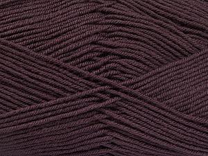 Fiber Content 70% Acrylic, 30% Wool, Maroon, Brand ICE, Yarn Thickness 4 Medium  Worsted, Afghan, Aran, fnt2-52615
