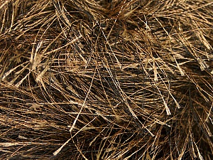 Fiber Content 100% Polyester, Brand ICE, Camel, Black, Yarn Thickness 6 SuperBulky  Bulky, Roving, fnt2-52770
