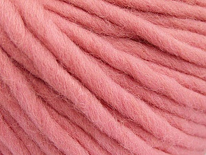 Fiber Content 100% Australian Wool, Pink, Brand Ice Yarns, Yarn Thickness 6 SuperBulky  Bulky, Roving, fnt2-52943