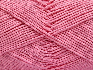 Baby cotton is a 100% premium giza cotton yarn exclusively made as a baby yarn. It is anti-bacterial and machine washable! Fiber Content 100% Giza Cotton, Pink, Brand ICE, Yarn Thickness 3 Light  DK, Light, Worsted, fnt2-53075