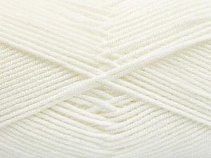 Fiber Content 50% Acrylic, 50% Bamboo, White, Brand Ice Yarns, Yarn Thickness 2 Fine Sport, Baby, fnt2-53089