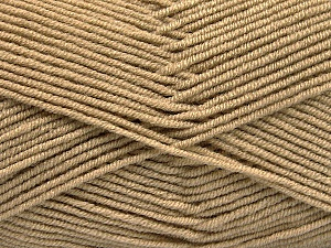 Fiber Content 50% Bamboo, 50% Acrylic, Brand Ice Yarns, Cafe Latte, Yarn Thickness 2 Fine Sport, Baby, fnt2-53090