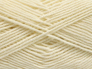 Fiber Content 50% Bamboo, 50% Acrylic, Brand ICE, Cream, Yarn Thickness 2 Fine  Sport, Baby, fnt2-53091