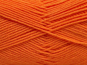 Fiber Content 50% Bamboo, 50% Acrylic, Orange, Brand ICE, Yarn Thickness 2 Fine  Sport, Baby, fnt2-53095