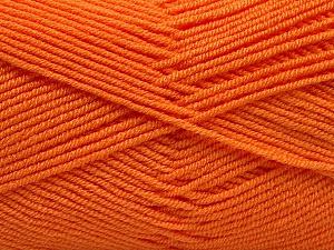 Fiber Content 50% Bamboo, 50% Acrylic, Orange, Brand Ice Yarns, Yarn Thickness 2 Fine Sport, Baby, fnt2-53095