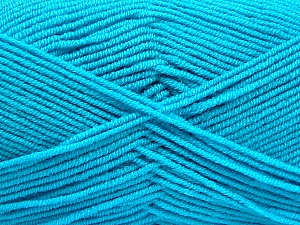 Fiber Content 50% Bamboo, 50% Acrylic, Turquoise, Brand ICE, Yarn Thickness 2 Fine  Sport, Baby, fnt2-53098