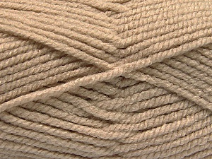 Fiber Content 100% Acrylic, Brand Ice Yarns, Beige, Yarn Thickness 5 Bulky  Chunky, Craft, Rug, fnt2-53174