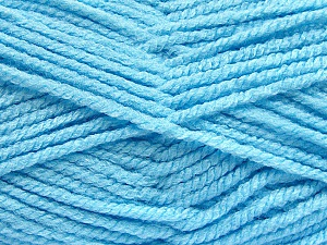 Fiber Content 100% Acrylic, Brand ICE, Baby Blue, Yarn Thickness 5 Bulky  Chunky, Craft, Rug, fnt2-53191