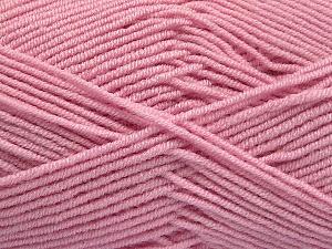 Fiber Content 50% Bamboo, 50% Acrylic, Brand Ice Yarns, Baby Pink, Yarn Thickness 2 Fine Sport, Baby, fnt2-53332