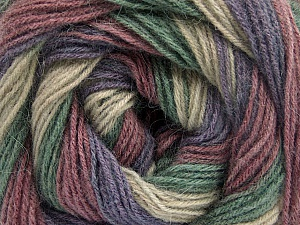 Fiber Content 60% Acrylic, 20% Wool, 20% Angora, Orchid, Lavender, Brand ICE, Green, Beige, Yarn Thickness 2 Fine  Sport, Baby, fnt2-53564