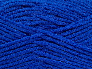 Fiber Content 100% Acrylic, Brand ICE, Blue, Yarn Thickness 5 Bulky  Chunky, Craft, Rug, fnt2-53647