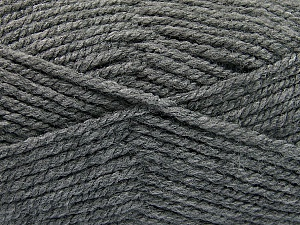 Fiber Content 100% Acrylic, Brand ICE, Dark Grey, Yarn Thickness 5 Bulky  Chunky, Craft, Rug, fnt2-53764