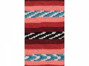 Fiber Content 100% Acrylic, White, Turquoise, Salmon, Red, Brand ICE, Burgundy, Black, Yarn Thickness 4 Medium  Worsted, Afghan, Aran, fnt2-53781