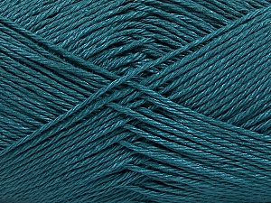 Fiber Content 100% Mercerised Cotton, Brand ICE, Dark Teal, Yarn Thickness 2 Fine  Sport, Baby, fnt2-53786