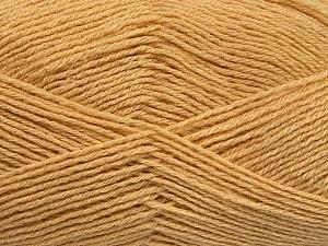 Fiber Content 60% Merino Wool, 40% Acrylic, Brand ICE, Cafe Latte, Yarn Thickness 2 Fine  Sport, Baby, fnt2-53824