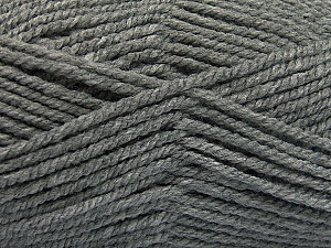 Fiber Content 100% Acrylic, Brand ICE, Grey, Yarn Thickness 5 Bulky  Chunky, Craft, Rug, fnt2-53925