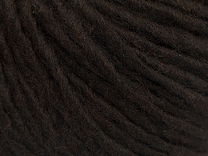 Fiber Content 50% Wool, 50% Acrylic, Brand ICE, Coffee Brown, Yarn Thickness 5 Bulky  Chunky, Craft, Rug, fnt2-54031