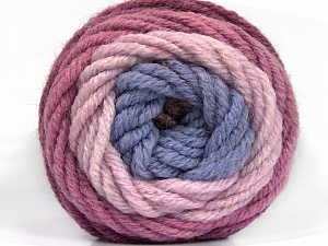 Fiber Content 70% Acrylic, 30% Wool, Orchid, Lilac, Light Pink, Brand ICE, Yarn Thickness 5 Bulky  Chunky, Craft, Rug, fnt2-54069