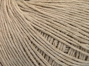 Fiber Content 100% Cotton, Brand ICE, Beige, Yarn Thickness 1 SuperFine  Sock, Fingering, Baby, fnt2-54122