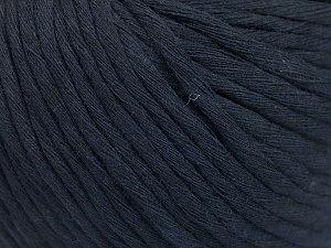 Fiber Content 100% Cotton, Navy, Brand ICE, Yarn Thickness 5 Bulky  Chunky, Craft, Rug, fnt2-54127