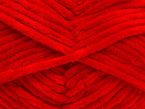 Fiber Content 100% Micro Fiber, Red, Brand ICE, Yarn Thickness 4 Medium  Worsted, Afghan, Aran, fnt2-54167