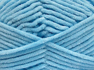 Fiber Content 100% Micro Fiber, Brand ICE, Baby Blue, Yarn Thickness 4 Medium  Worsted, Afghan, Aran, fnt2-54169