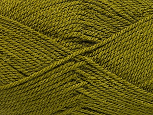 Fiber Content 100% Acrylic, Olive Green, Brand ICE, Yarn Thickness 2 Fine  Sport, Baby, fnt2-54192
