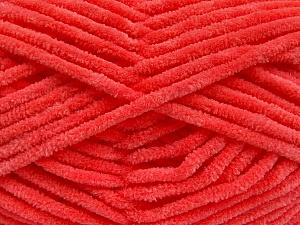 Fiber Content 100% Micro Fiber, Salmon, Brand ICE, Yarn Thickness 4 Medium  Worsted, Afghan, Aran, fnt2-54255