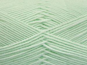 Fiber Content 50% Bamboo, 50% Acrylic, Mint Green, Brand ICE, Yarn Thickness 2 Fine  Sport, Baby, fnt2-54434