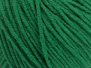 Fiber Content 50% Acrylic, 50% Cotton, Brand ICE, Green, Yarn Thickness 3 Light  DK, Light, Worsted, fnt2-54668